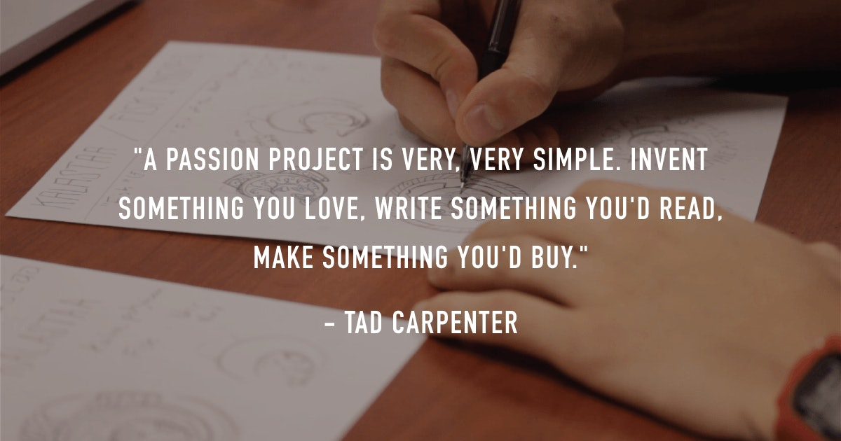 tad carpenter power to play quote