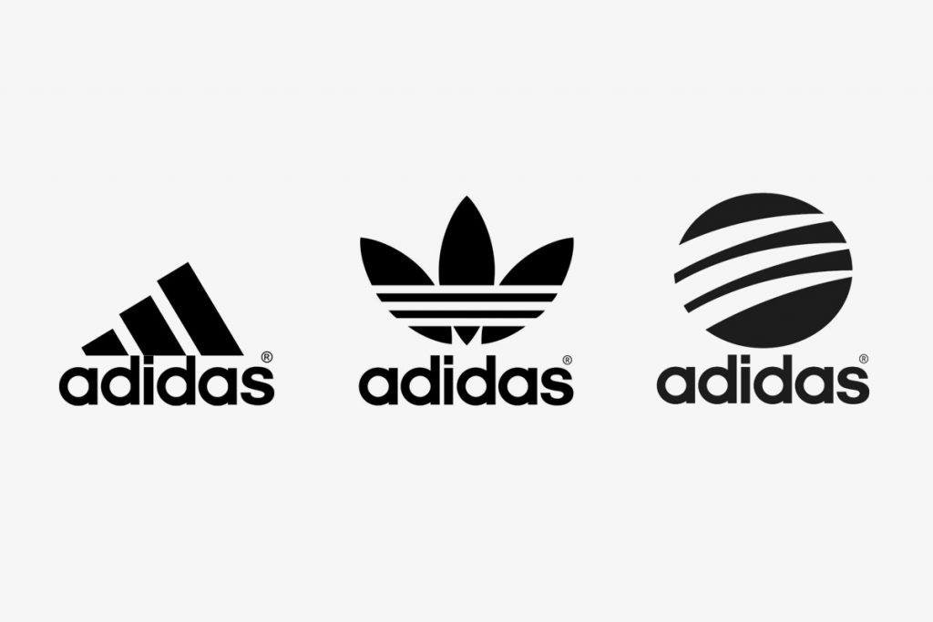 Adidas Three Stripe Logo in Three Versions